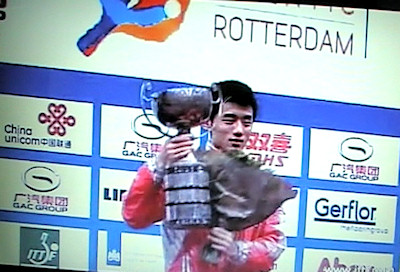 2011 World Table Tennis Champion - Zhang Jike