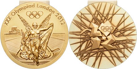 2012 Olympic Games Medals