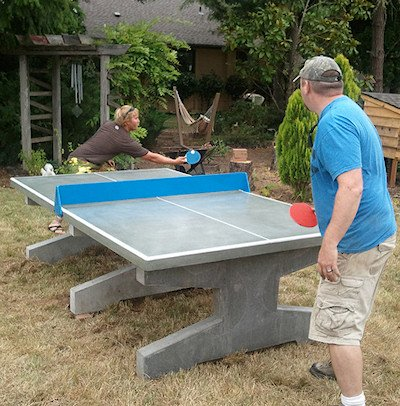 Outdoor ping pong