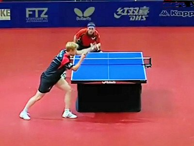 Table tennis videos on YouTube