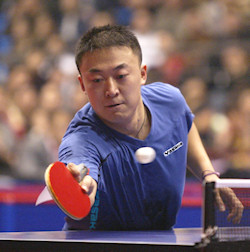 Yasaka table tennis player Ma Lin