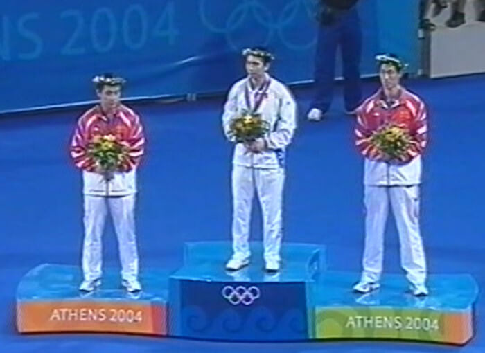 Olympic Games table tennis medallists 2004