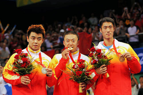 2008 Olympic Games - Mens Team Winners - China