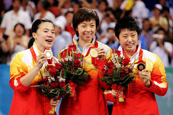 2008 Olympic Games - Womens Team Winners - China