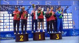 2011 European Championships - Mens Doubles