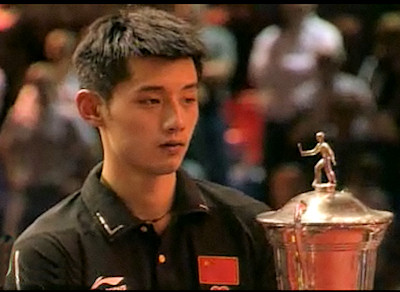 2011 World Cup winner - Zhang Jike