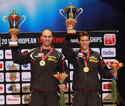 2012 European Table Tennis Championships - Men's Doubles