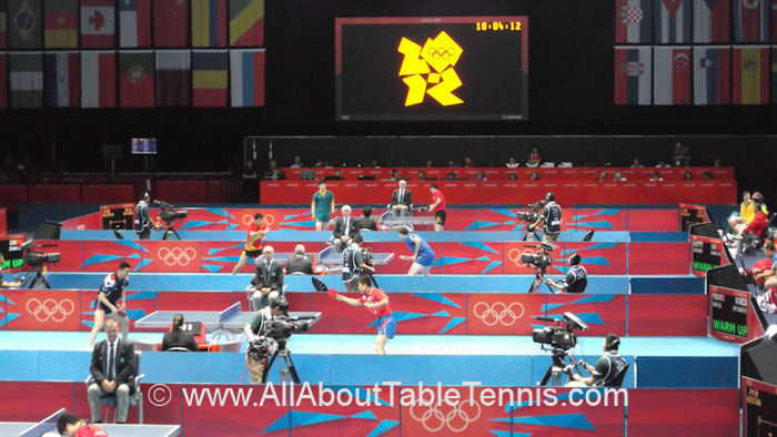 2012 Summer Olympics Table Tennis arena