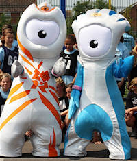 2012 Olympic Games Mascots