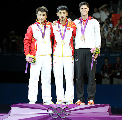 2012 Olympic Games - Medal Winners - Mens Singles