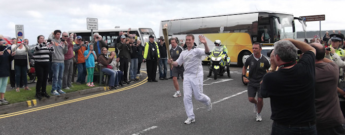 2012 Torch Relay in my town