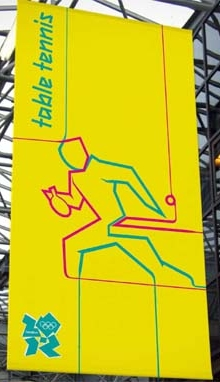 2012 Olympic Games - Table Tennis Pictogram