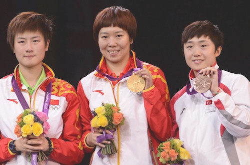 2012 Olympic Games - Medal Winners - Womens Singles