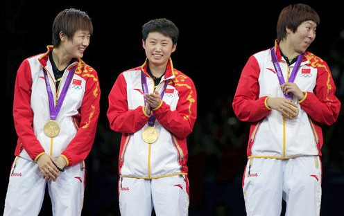 2012 Olympic Games - Gold Medal Winners - Womens Team Event