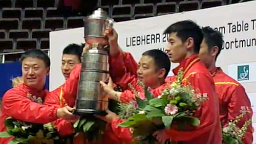 China - World Champions 2012