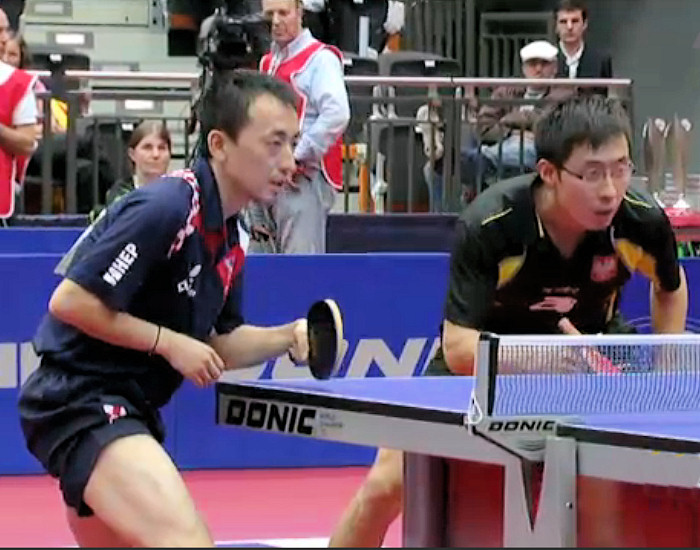 Ruiwu Tan (Croatia) and Zeng Yi Wang (Poland) - Men's Doubles winners