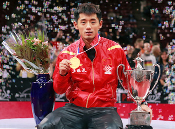 World Champion 2013 - Zhang Jike from China
