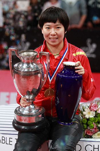 World Champion 2013 - Li Xiaoxia from China