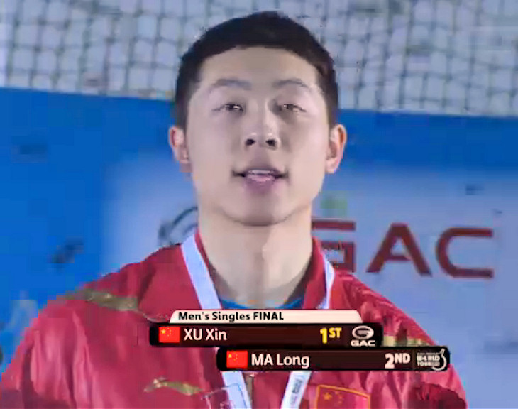 ITTF World Tour 2013 Grand Finals Winner - Xu Xin