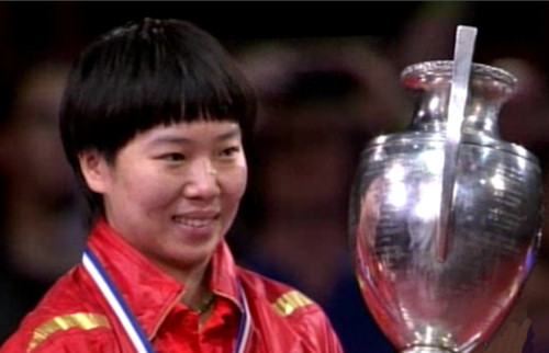 Women's Singles Champion 2013 - LI Xiaoxia (China)