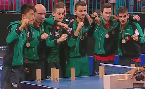 European Championships 2014 winners - Portugal