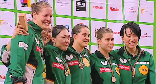 2014 European Championships - Women's Team Champions - Germany