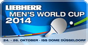 Men's World Cup 2014 Logo
