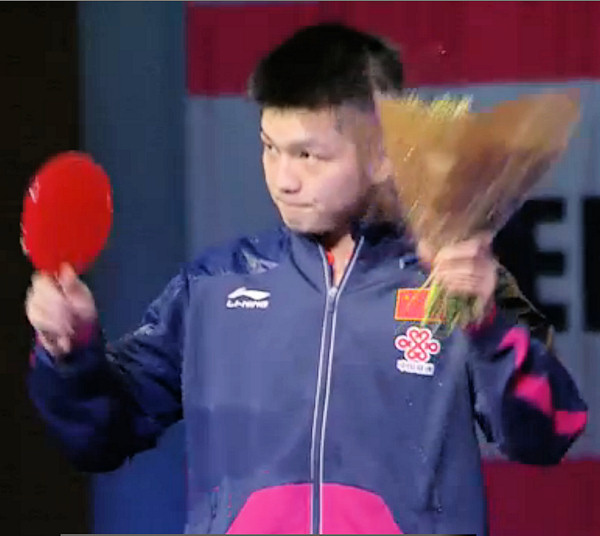 World Cup 2015 Runner up - Fan Zhendong