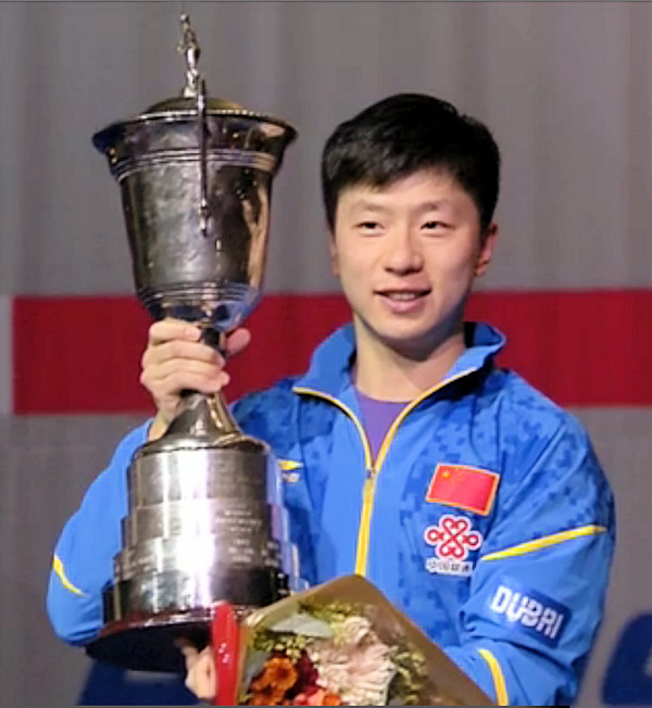 World Cup 2015 Winner - Ma Long