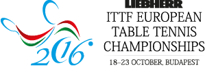 Logo for European Table Tennis Championships 2016