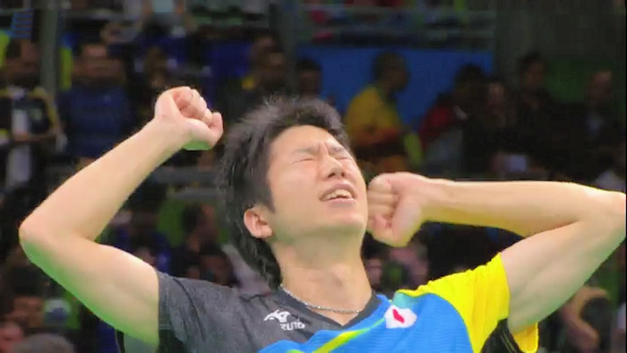 2016 Olympic Games Men's Singles Event Bronze Medal winner - Jun Mizutani