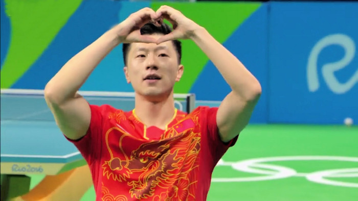 2016 Olympic Games Men's Singles Event Gold Medal winner - Ma Long
