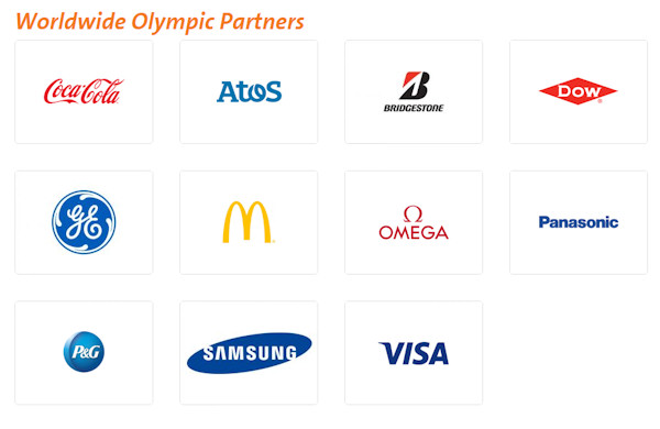 2016 Olympic Games Sponsors