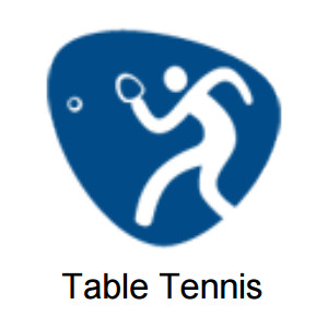 2016 Olympic Games - Table Tennis Pictogram