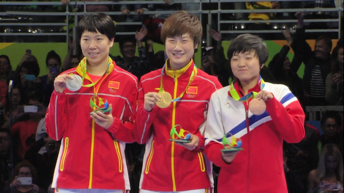2016 Olympic Games Women's Singles Event Medal winners