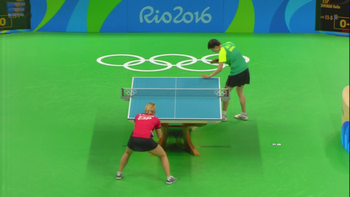 2016 Olympic Games Women's Singles Event Results