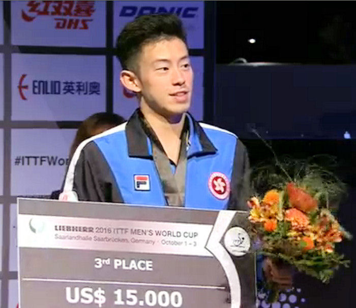 World Cup 2016 3rd Place - Wong Chun Ting