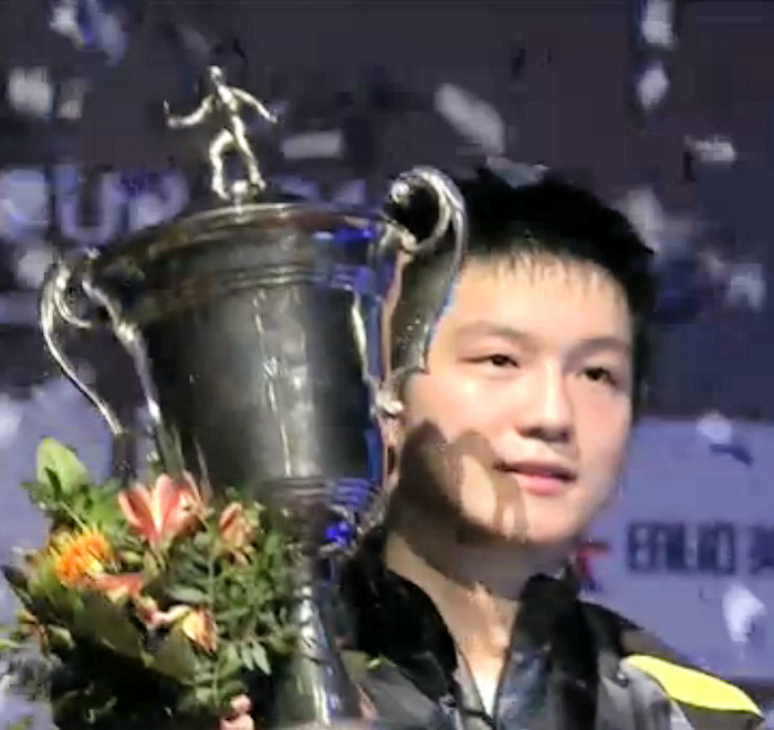 World Cup 2016 - Winner - Fan Zhendong