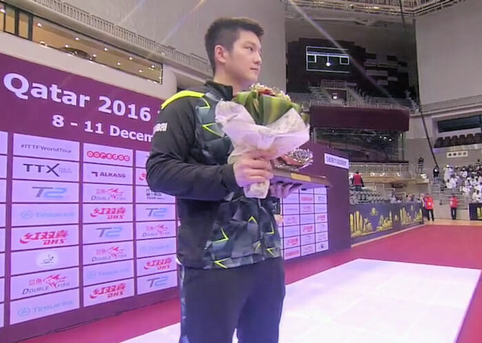 2016 ITTF World Tour Grand Finals - Fan Zhendong