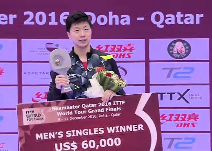 2016 ITTF World Tour Grand Finals - Ma Long