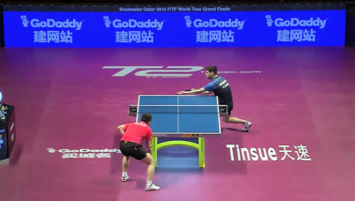 2016 ITTF World Tour Grand Finals - Fan Zhendong and Dimitrij Ovtcharov