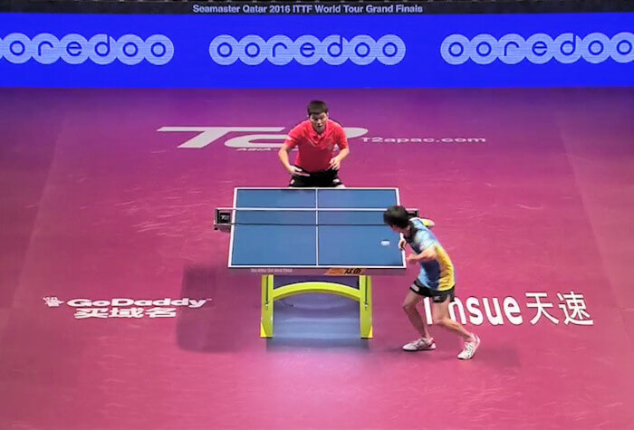 2016 ITTF World Tour Grand Finals - Fan Zhendong and Koki Niwa