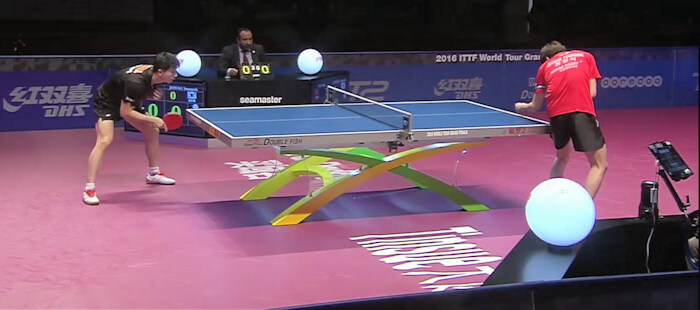 2016 ITTF World Tour Grand Finals - Ma Long and Jeoung Youngsik