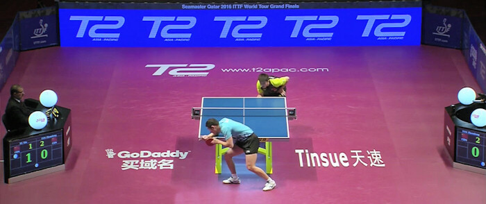2016 ITTF World Tour Grand Finals - Fan Zhendong and Xu Xin