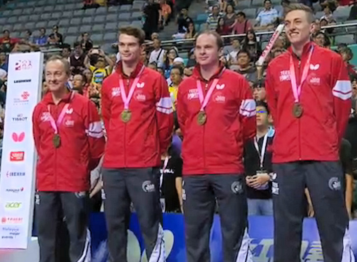 2016 World Team Championships - England - Bronze Medallists