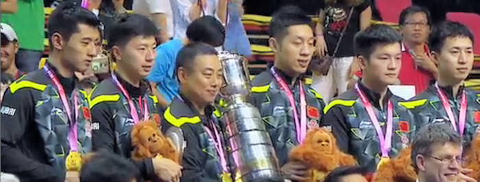2016 World Team Championships - China - Gold Medallists