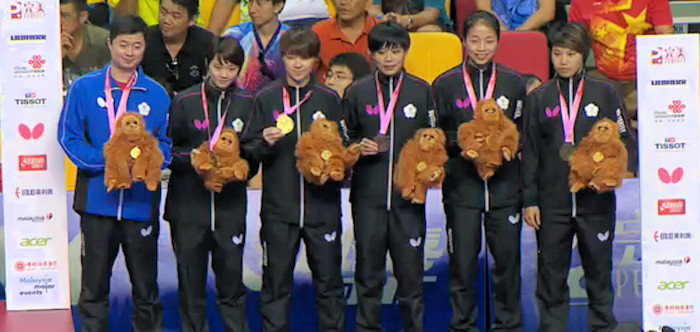 2016 World Team Championships - Chinese Taipei - Bronze Medallists