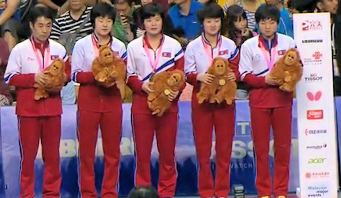 2016 World Team Championships - North Korea - Bronze Medallists