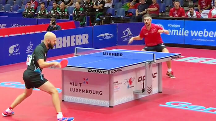 Quentin Robinot beats Konstantinos Papageorgiou to secure the victory for France