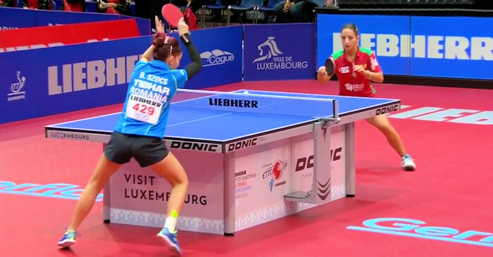 Bernadette Szocs beats Leila Oliveira to secure the victory for Romania